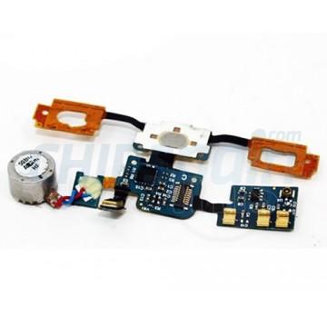 Flexible Cable Button Home and Buzzer Vibrator Samsung Galaxy S i9000