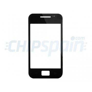 Cristal Exterior Samsung Galaxy Ace -Negro