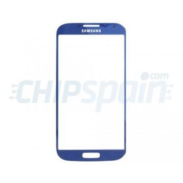 Cristal Exterior Samsung Galaxy S4 -Azul