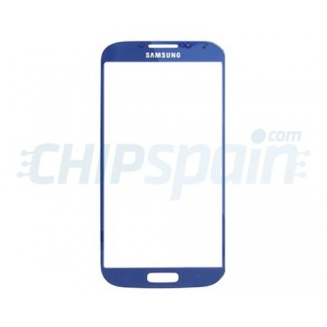 Exterior Glass Samsung Galaxy S4 -Blue