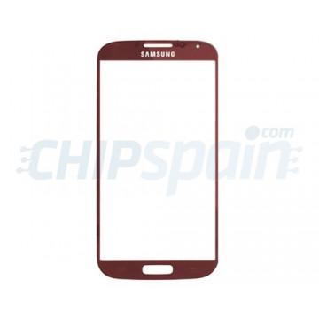Cristal Exterior Samsung Galaxy S4 -Rojo