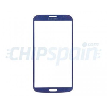 Exterior Glass Samsung Galaxy Mega 6.3 -Blue