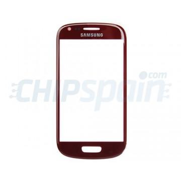 Exterior Glass Samsung Galaxy SIII Mini -Red