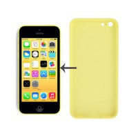 Back Cover iPhone 5C -Yellow