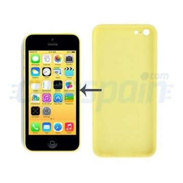 Carcasa Trasera iPhone 5C Amarillo