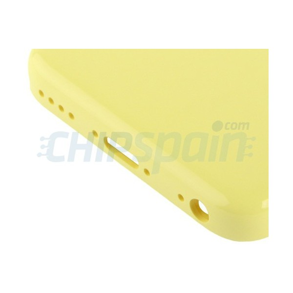 Back Cover iPhone 5C -Yellow - ChipSpain.com