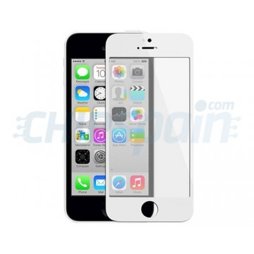 Cristal Exterior iPhone 5C -Blanco