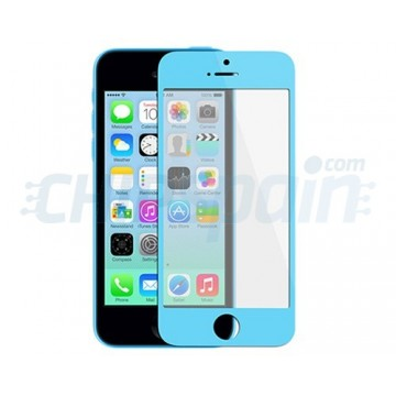 Vidro Exterior iPhone 5C -Azul Claro