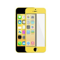 Cristal Exterior iPhone 5C -Amarillo