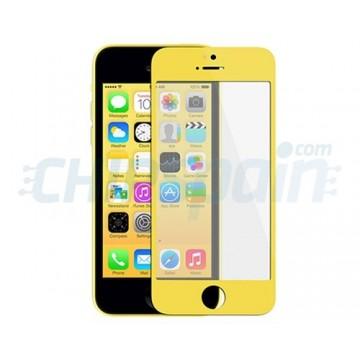 Cristal Exterior iPhone 5C -Amarillo