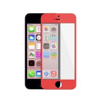 Vidro Exterior iPhone 5C -Vermelho