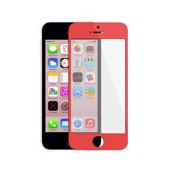 Cristal Exterior iPhone 5C -Rojo