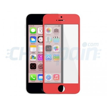Exterior Glass iPhone 5C -Red