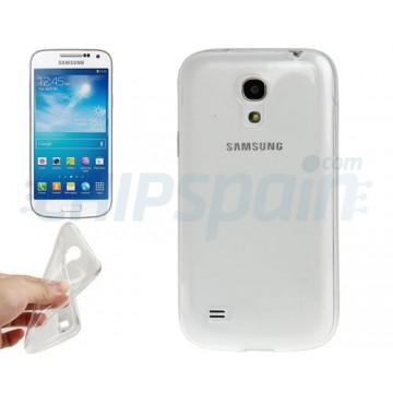 Funda TPU Samsung Galaxy S4 Mini -Transparente