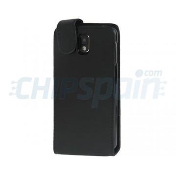 on sale 2f98d 594c1 Flip Leather Case Samsung Galaxy Note 3 -Black