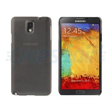 Cobertura Translucida Slim Samsung Galaxy Note 3 -Cinza