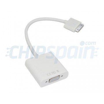 Cabo 30 PIN a VGA iPhone/iPad/iPod