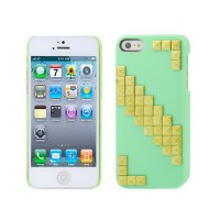 Carcasa Lady Gaga iPhone 5/5S -Verde