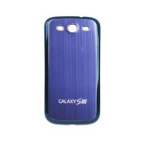 Tapa Trasera Batería Samsung Galaxy SIII -Azul/Negro