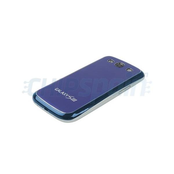 Battery Back Cover Samsung Galaxy SIII -Blue/Black ...
