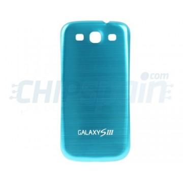 Contracapa Bateria Samsung Galaxy SIII -Azul Metalizado
