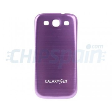 Contracapa Bateria Samsung Galaxy SIII -Roxo Metalizado