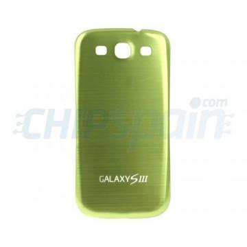 Tapa Trasera Batería Samsung Galaxy SIII -Verde Metalizado