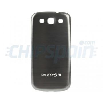 Tapa Trasera Batería Samsung Galaxy SIII -Gris Metalizado