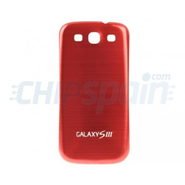 Back Cover Samsung Galaxy SIII -Metallic Red