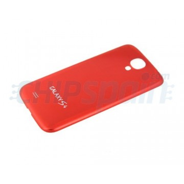 Tapa Trasera Batería Samsung Galaxy S4 -Rojo Metalizado