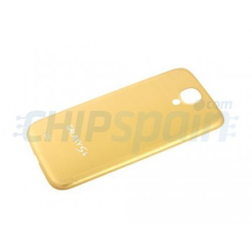 Tapa Trasera Batería Samsung Galaxy S4 -Oro Metalizado