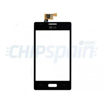 Vidro Digitalizador Táctil LG Optimus L5 (E610) -Preto