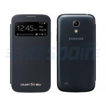 Flip Case Battery Cover S-View Samsung Galaxy S4 Mini -Black