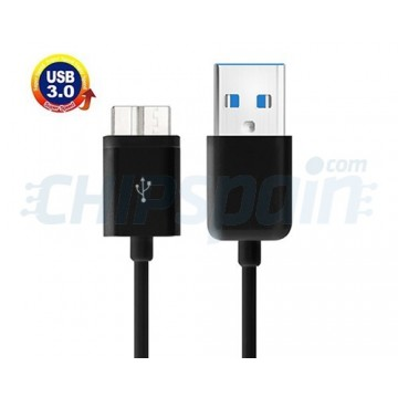 Cable USB 3.0 a Micro USB 3.0 1m -Black
