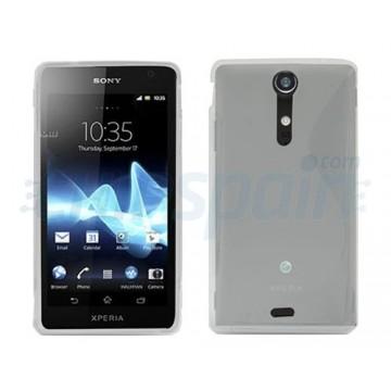 Capa de TPU Sony Xperia GX -Transparente