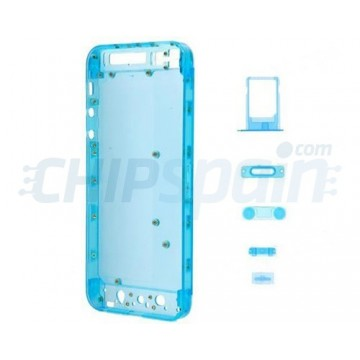 Back Cover Frosted iPhone 5 -Blue