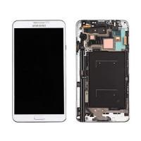 Pantalla Completa con Marco Samsung Galaxy Note 3 -Blanco