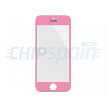 Cristal Exterior iPhone 5 iPhone 5S iPhone SE Rosa