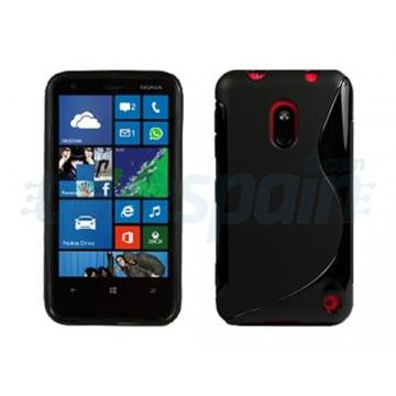 Funda S-Line Series Nokia Lumia 620 -Negro