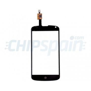Vidro Digitalizador Táctil LG Nexus 4 (E960) -Preto