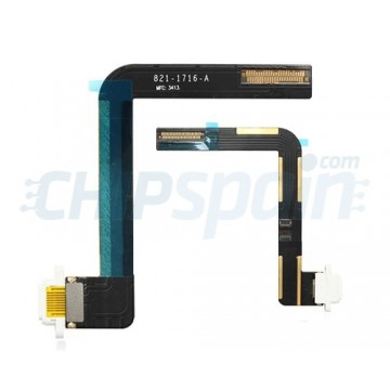 Cabo Flexível com Conector Carga iPad Air -Branco