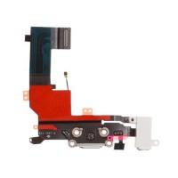 Cable Audio/Dock/Antena/Mic para iPhone 5S -Branco