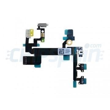 Cable Flexible Encendido/Apagado/Volumen/Mute iPhone 5S