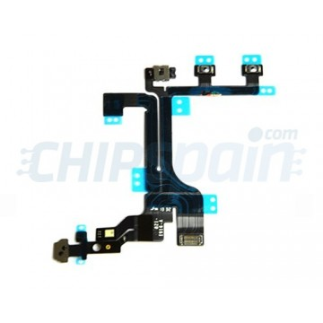 Flex Cable On/Off/Volume/Mute iPhone 5C
