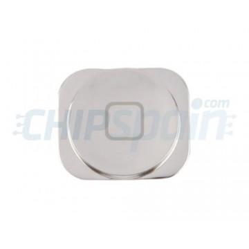 Botón Home iPhone 5 -Plata