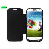 Funda Flip Stand con Batería 3200mAh Samsung Galaxy S4 -Negro