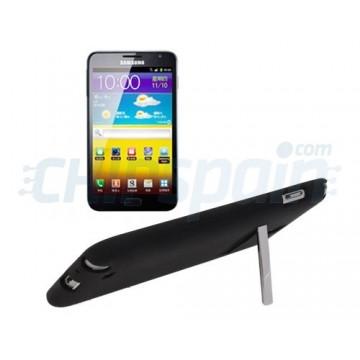 Carcasa TPU con Stand Samsung Galaxy Note -Negro