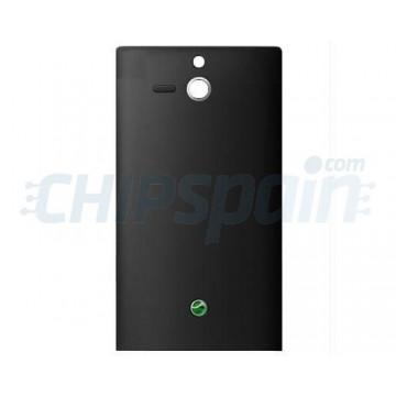 Tapa Trasera Batería para Sony Xperia U -Negro