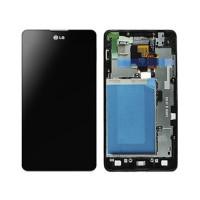 Pantalla Completa con marco LG Optimus G (E975) - Negro