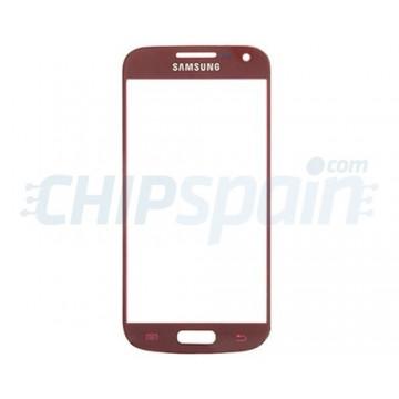 Cristal Exterior Samsung Galaxy S4 Mini -Rojo